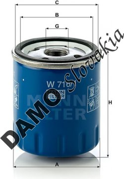Olejový filter W 716/1