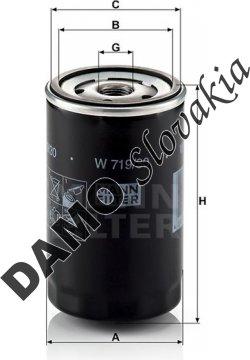 Olejový filter W 719/30
