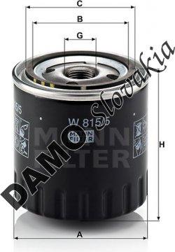 Olejový filter W 815/5