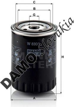 Olejový filter W 830/1