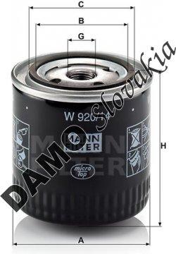Olejový filter W 920/14