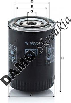 Olejový filter W 933/1