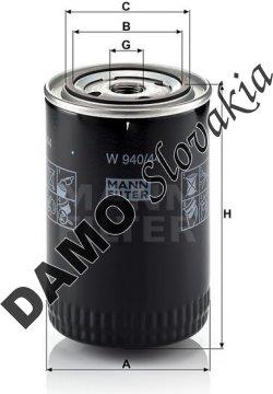 Olejový filter W 940/44