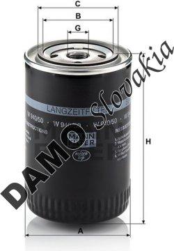 Olejový filter W 940/50