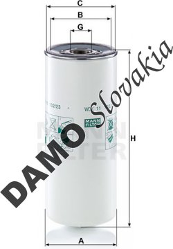 Palivový filter WDK 11 102/23