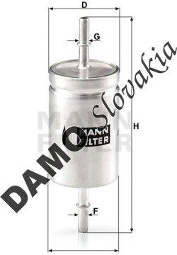 Palivový filter WK 512
