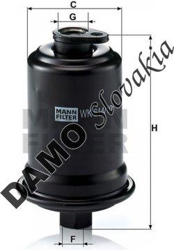 Palivový filter WK 614/10