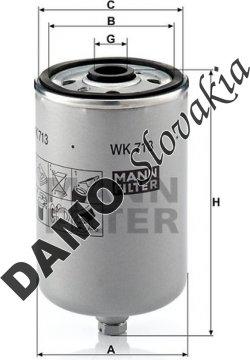 Palivový filter WK 713