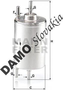 Palivový filter WK 720/6