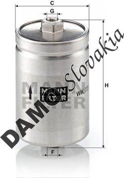 Palivový filter MANN FILTER WK 725