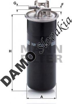 Palivový filter WK 735/1