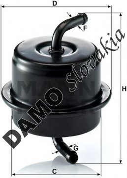 Palivový filter WK 76