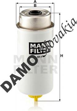 Palivový filter MANN FILTER WK 8105