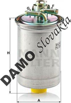 Palivový filter MANN FILTER WK 823