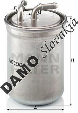 Palivový filter WK 823/2