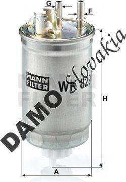Palivový filter WK 829/2