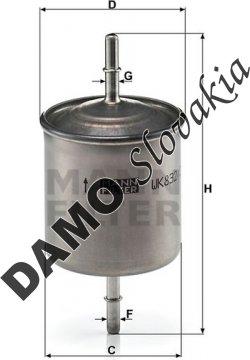 Palivový filter WK 832/2