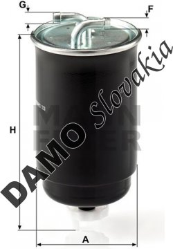 Palivový filter WK 842/3
