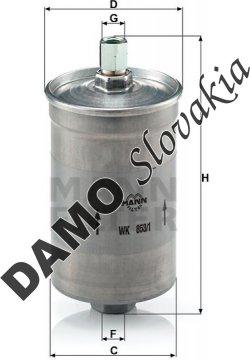 Palivový filter WK 853/1