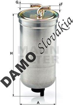 Palivový filter WK 853/16