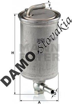 Palivový filter WK 853/17