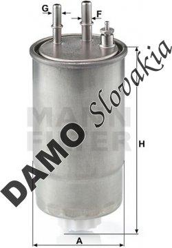 Palivový filter WK 853/21