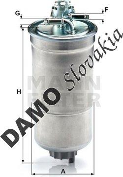 Palivový filter WK 853/3 x