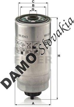Palivový filter WK 854/2