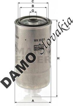 Palivový filter WK 854/4
