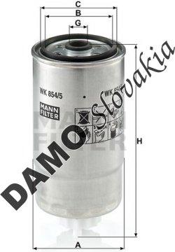 Palivový filter WK 854/5