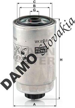 Palivový filter WK 854/6