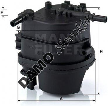 Palivový filter WK 939