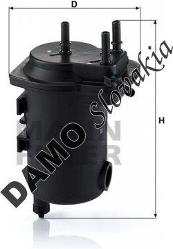 Palivový filter MANN FILTER WK 939/10 x