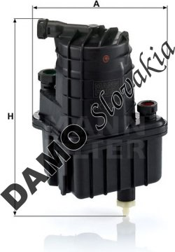 Palivový filter MANN FILTER WK 939/11 x