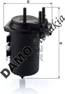 Palivový filter WK 939/6