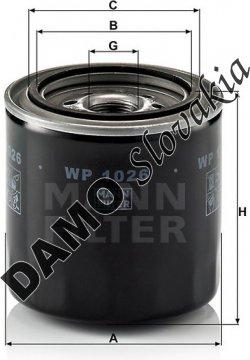 Olejový filter WP 1026
