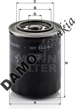 Olejový filter WP 928/81