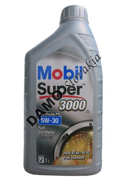 mobil super 3000 formula fe 5w 30 1l motorov. Black Bedroom Furniture Sets. Home Design Ideas