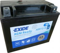 EXIDE BIKE 12V 10Ah 150A, AGM12-10