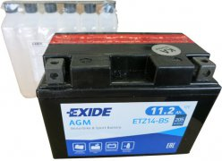 EXIDE BIKE 12V 11.2Ah 205A, ETZ14-BS