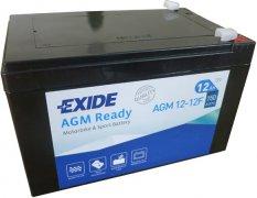 EXIDE BIKE 12V 12Ah 150A, AGM12-12F