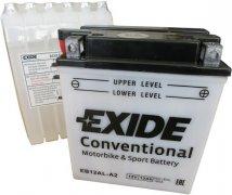 EXIDE BIKE 12V 12Ah 165A, EB12AL-A2