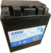 EXIDE BIKE 12V 12Ah 210A, AGM12-14