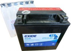 EXIDE BIKE 12V 14Ah 215A, ETX16-BS