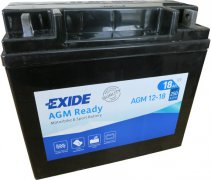 EXIDE BIKE 12V 18Ah 250A, AGM12-18