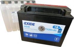EXIDE BIKE 12V 18Ah 270A, ETX20H-BS