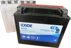 EXIDE BIKE 12V 18Ah 270A, ETX20HL-BS