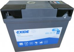 EXIDE BIKE 12V 19Ah 170A, GEL12-19