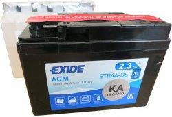 EXIDE BIKE 12V 2.3Ah 35A, ETR4A-BS