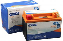 EXIDE BIKE 12V 36Wh 180A, ELTX9